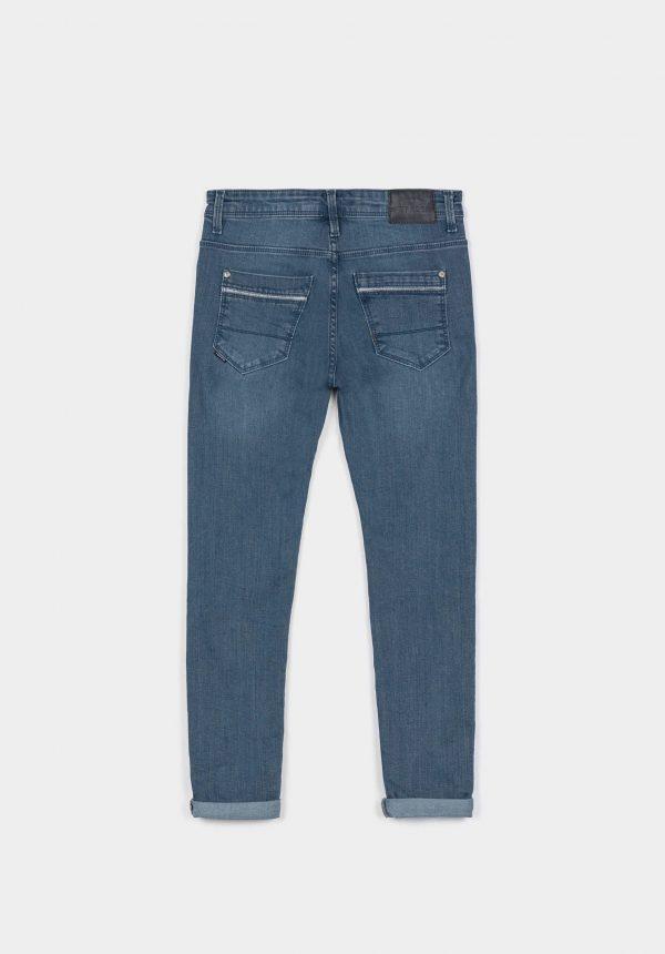 Jeans Jaden pormenores refletores para menino da Tiffosi
