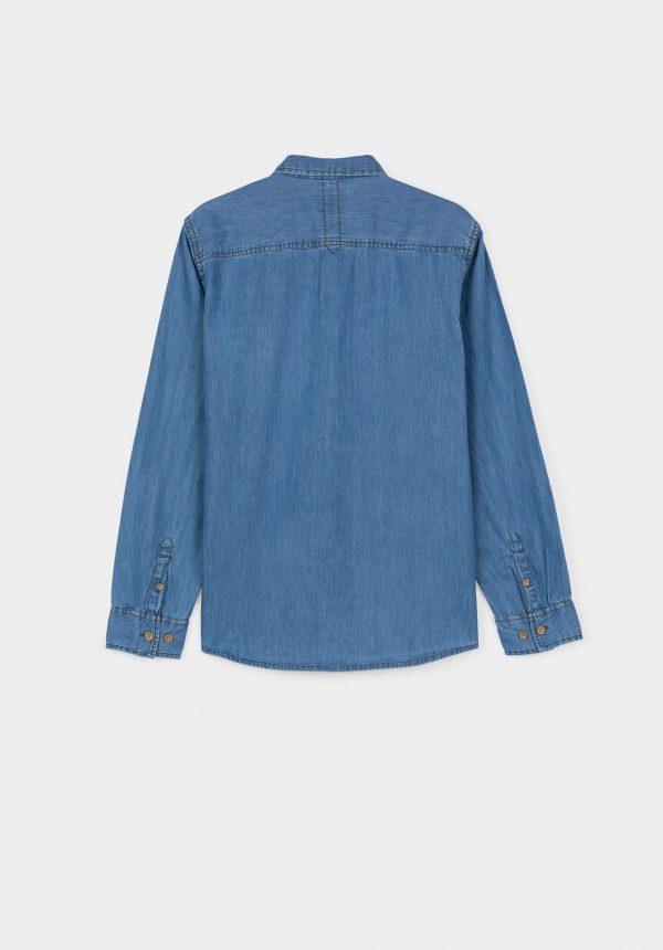 Camisa básica de ganga para menino da Tiffosi