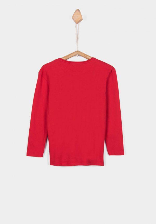 T-shirt texto gel print para menina / girl da Tiffosi