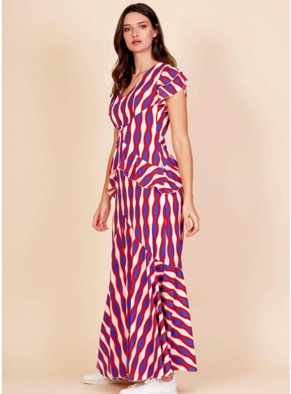 Vestido longo Maria para mulher da Minueto