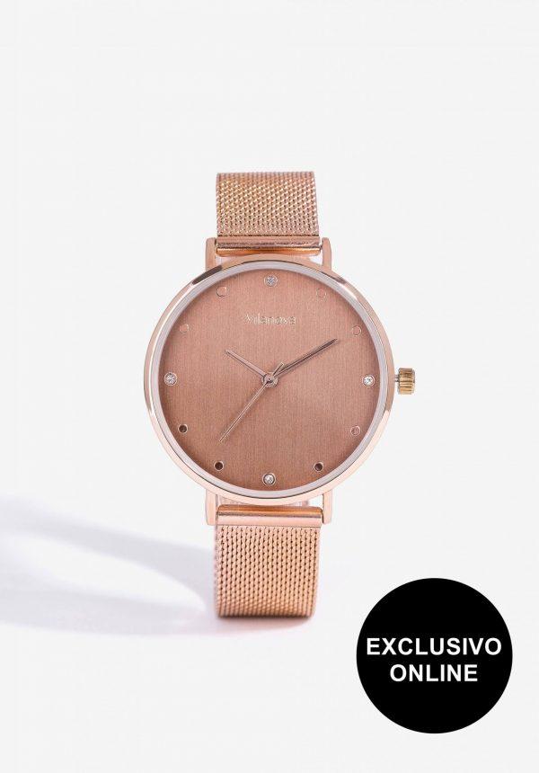 Relógio em cobre para mulher da Vilanova