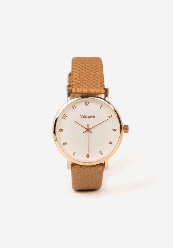 Relógio com bracelete furada para mulher da Vilanova