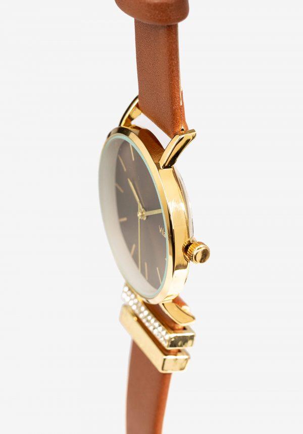 Relógio castanho Wat para mulher da Vilanova