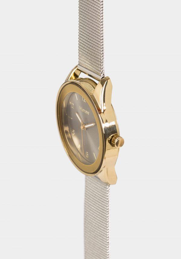 Relógio prateado Wat para mulher da Vilanova