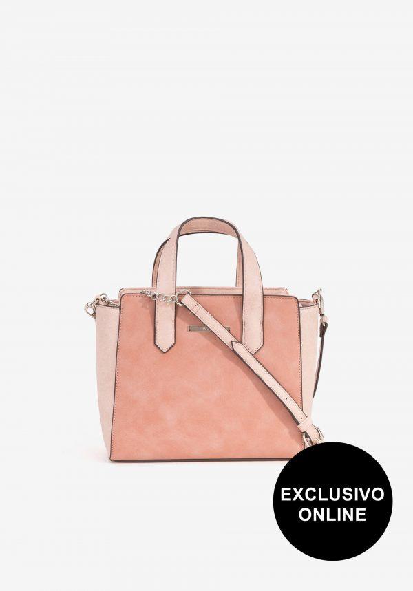 Carteira de mão rosa para mulher da Vilanova