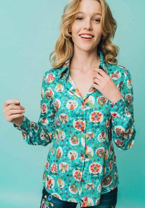 Camisa Celaya para mulher da Rosalita Mc Gee