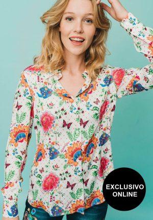 Camisa Cazumel para mulher da Rosalita Mc Gee