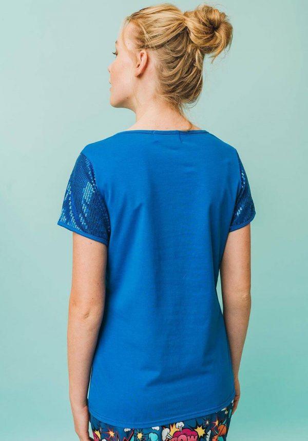 T-shirt Pinacate para mulher da Rosalita Mc Gee