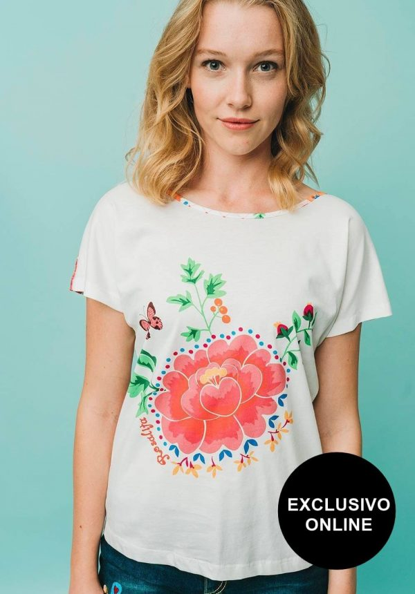 T-shirt Cazumel para mulher da Rosalita Mc Gee
