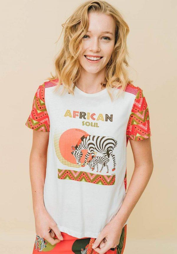 T-shirt Coba para mulher da Rosalita Mc Gee