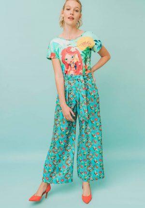 Pantalona misteriosa para mulher da Rosalita Mc Gee