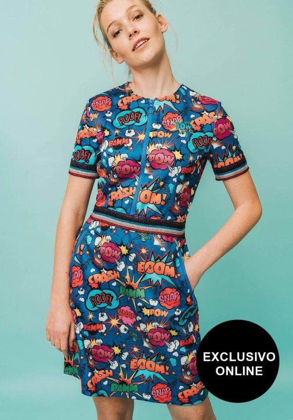 Vestido Pinacate para mulher da Rosalita Mc Gee