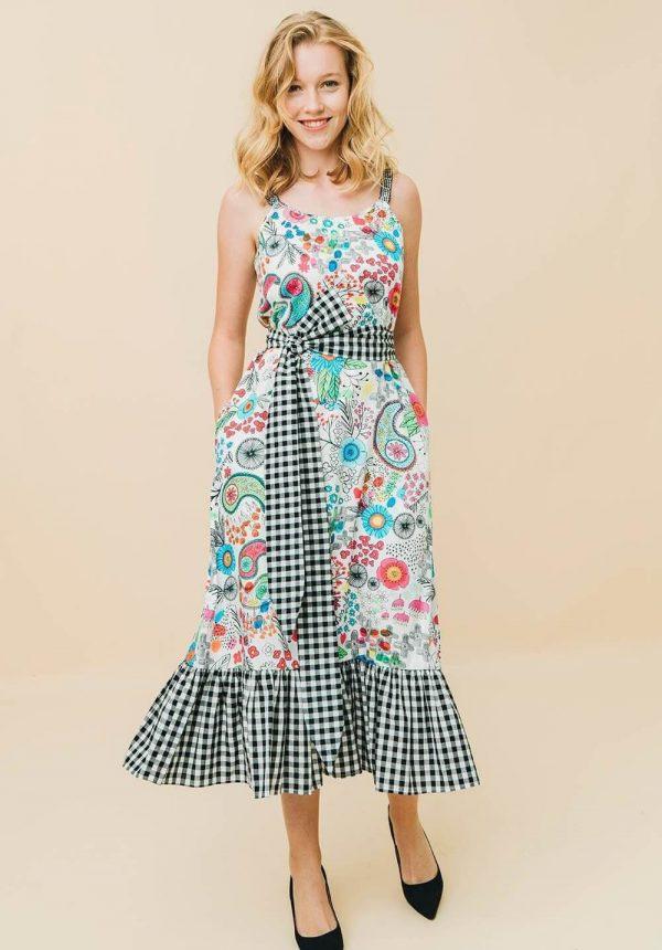 Vestido Mazatlan para mulher da Rosalita Mc Gee