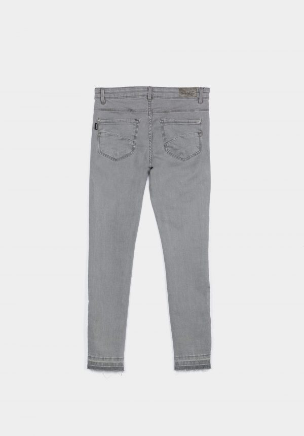 Jeans blake skinny cinza para menina da Tiffosi