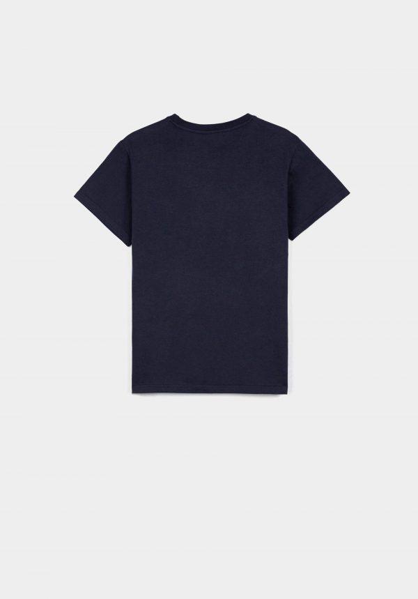 T-shirt c/ estampa vermelha para menino da Tiffosi