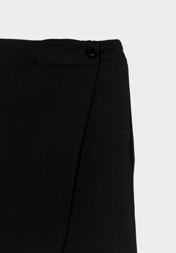 Calças pretas traçadas para mulher da Tiffosi