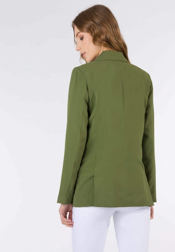 Casaco traçado verde para mulher da Tiffosi