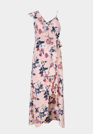 Vestido c/ print floral e alça para mulher da Tiffosi