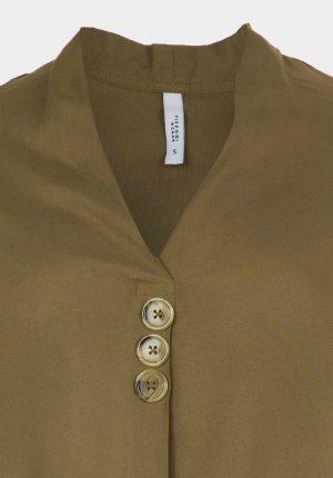 Túnica branca c/ botões para mulher da Tiffosi
