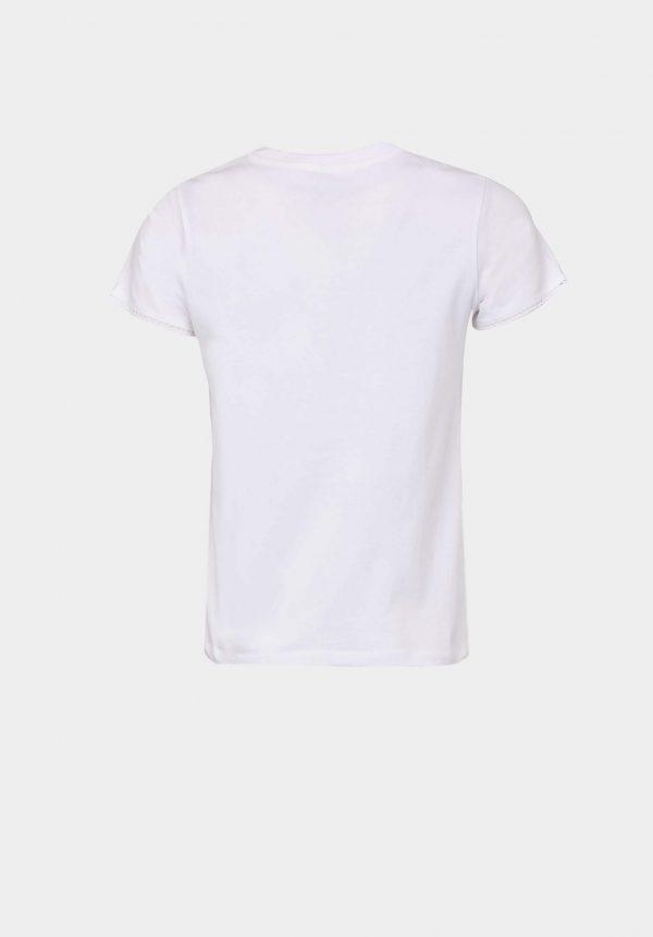 T-shirt branca c/ papoila para mulher da Tiffosi