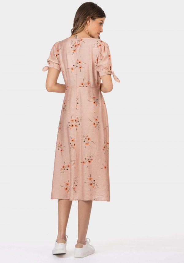 Vestido claro midi para mulher da Tiffosi