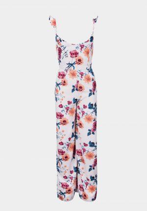 Jumpsuit floral c/ alças para mulher da Tiffosi
