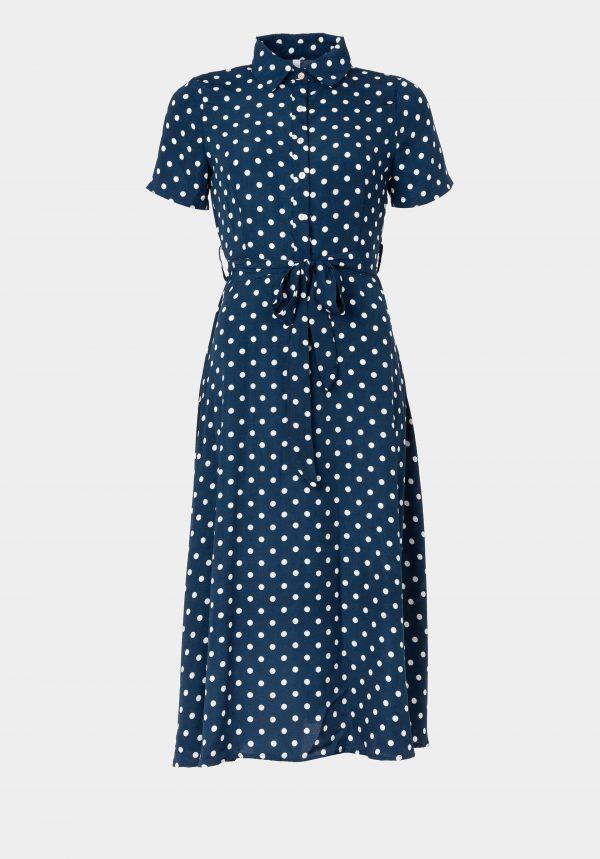 Vestido comprido c/ bolas para mulher da Tiffosi