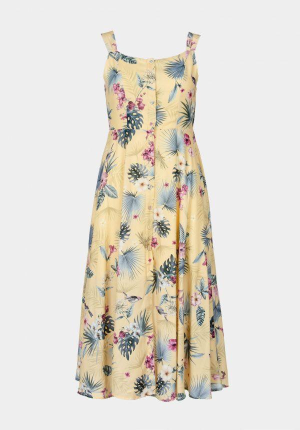 Vestido de alças comprido para mulher da Tiffosi