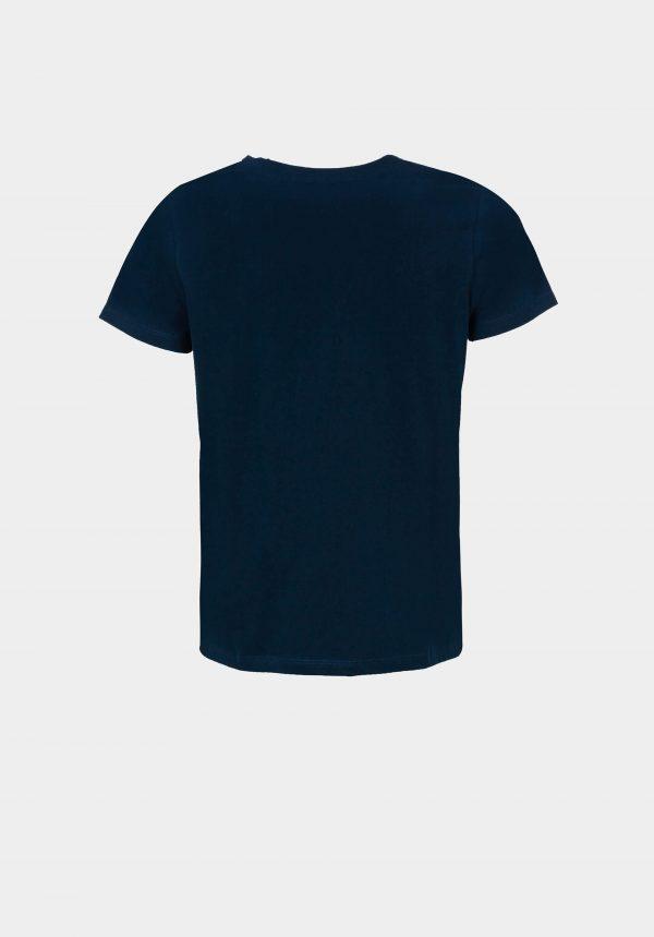 T-shirt azul c/ concha para mulher da Tiffosi