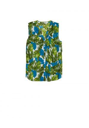 Blusa com print folhas para mulher da Md`m