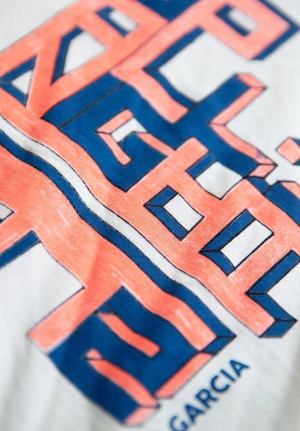 T-shirt c/ estampa 3D para menino da Garcia Jeans