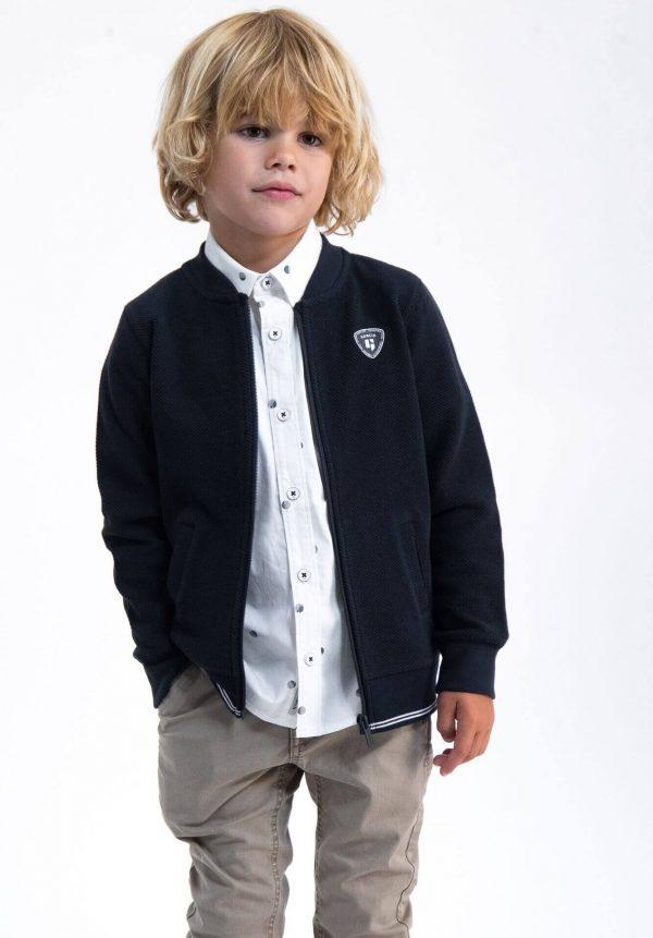Casaco azul c/ fecho para menino da Garcia Jeans