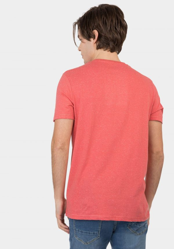 T-shirt coral c/ estampa para homem da Tiffosi