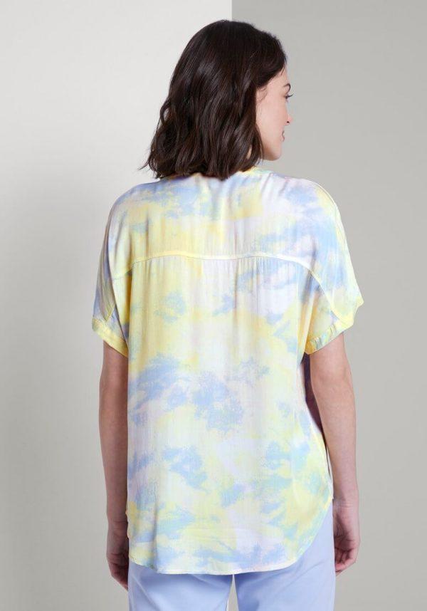 Camisa colorida c/ manga curta para mulher da Tom Tailor