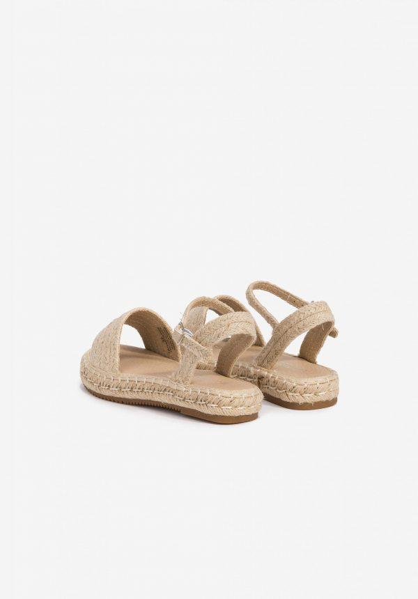 Sandálias de corda para menina da Tiffosi
