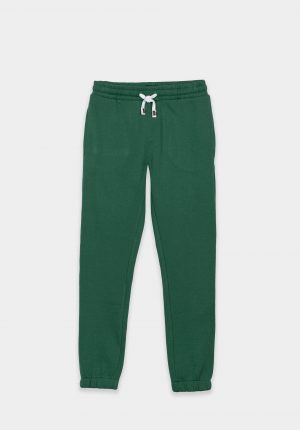 Calças verde c/ cordão para boy da Tiffosi