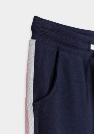 Calças azuis c/ tira e bolso para girl da Tiffosi