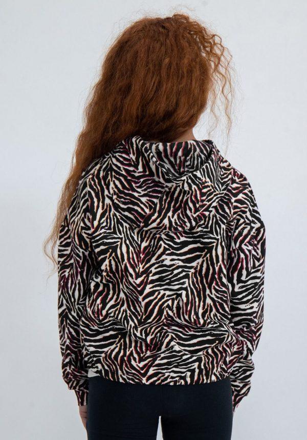 Hoodie tigresa para menina da Garcia Jeans
