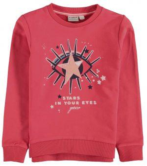 Sweat rosa c/ estrela para menina da Garcia Jeans