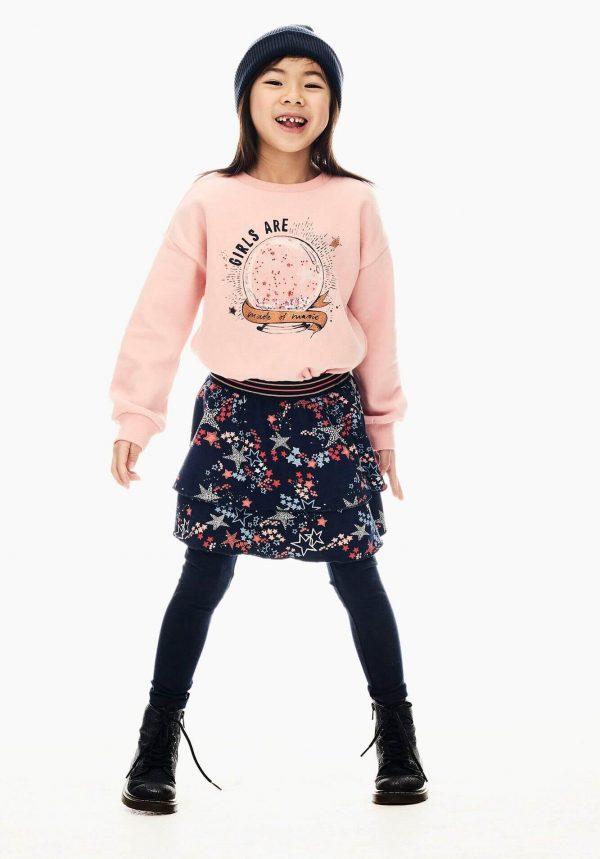 Saia c/ print estrelado para menina da Garcia Jeans