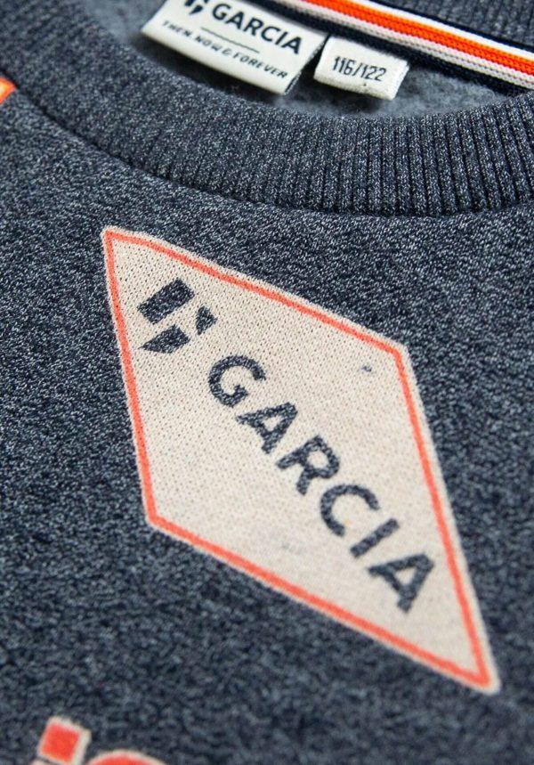 Sweat cinza para menino da Garcia